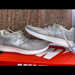 Brand new Light grey Nike FREE RUN